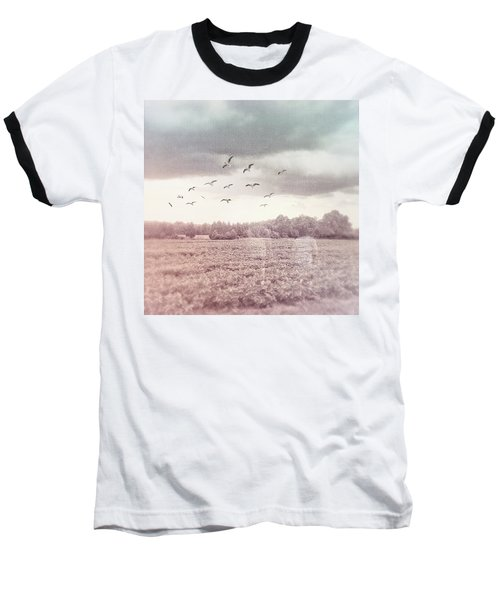 Lost In The Fields Of Time Baseball T-Shirt