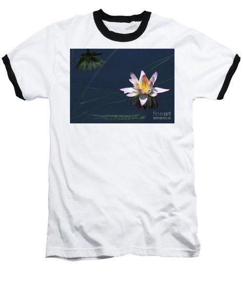 Lotus And Reflection Baseball T-Shirt