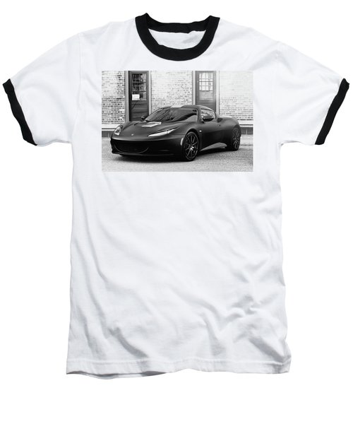 Baseball T-Shirt featuring the photograph Lotus Evora by Joel Witmeyer