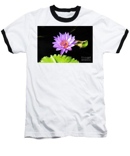 Lotus Splendor Baseball T-Shirt