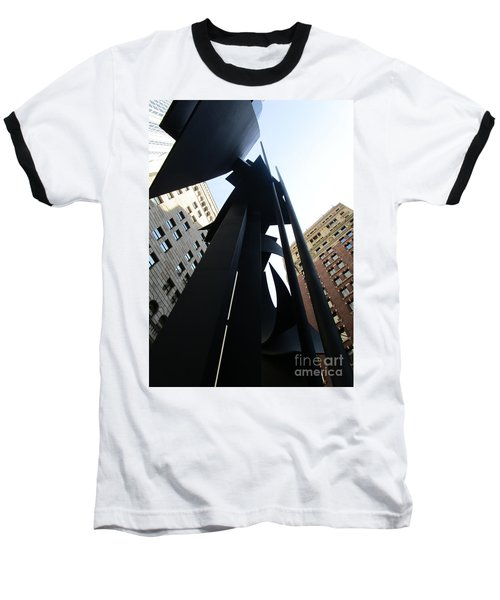 Louise Nevelson Plaza 1 Baseball T-Shirt