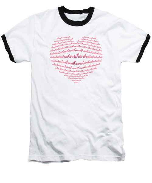 Love Boom Baseball T-Shirt by Scott Carruthers