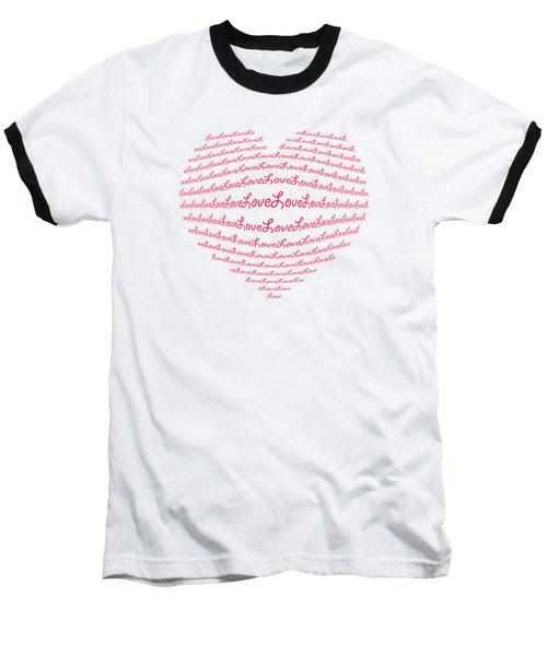 Love Boom Baseball T-Shirt