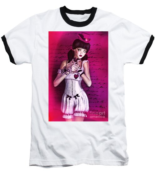 Love Doll Baseball T-Shirt