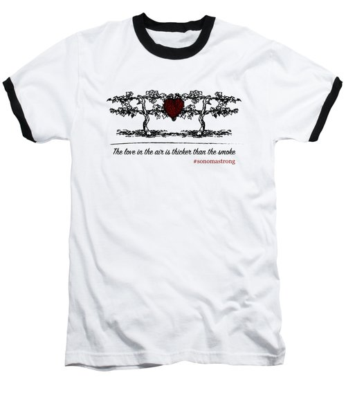 Love In The Air Baseball T-Shirt