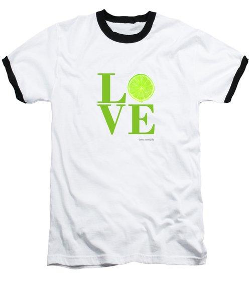 Love Lime Baseball T-Shirt