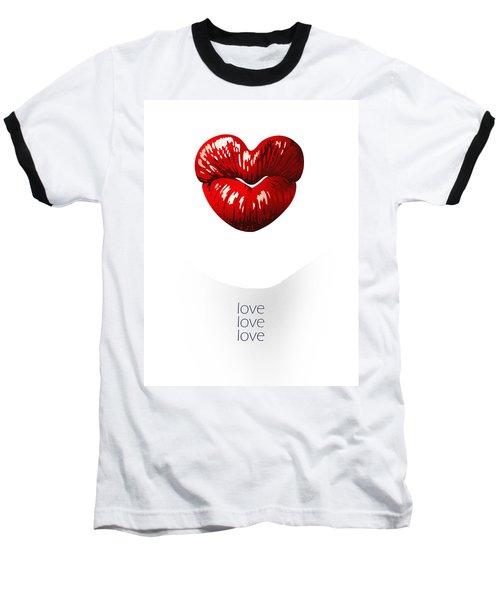 Love Poster Baseball T-Shirt