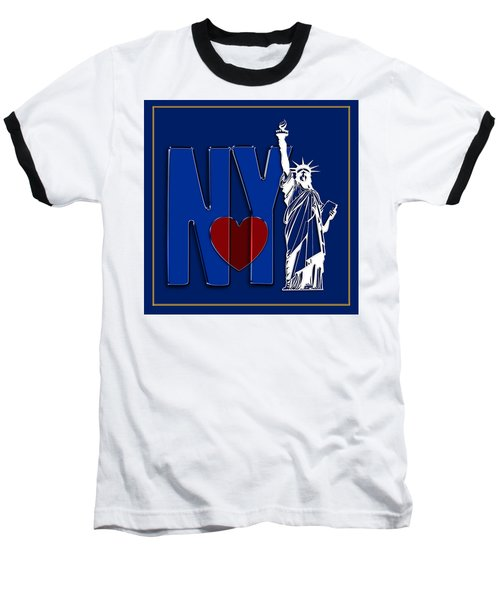 Love New York Baseball T-Shirt