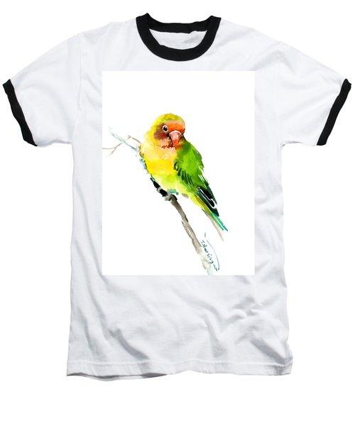 Lovebird Baseball T-Shirt by Suren Nersisyan