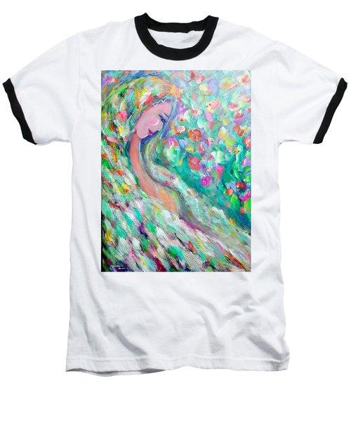 Lovely Angel Baseball T-Shirt