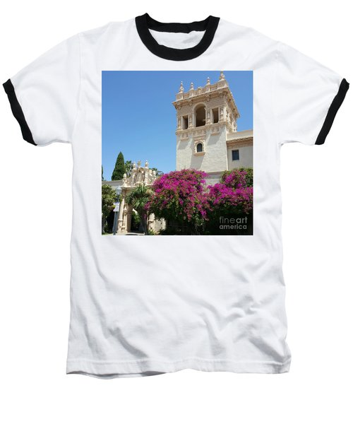 Lovely Blooming Day In Balboa Park San Diego Baseball T-Shirt by Jasna Gopic