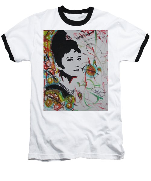 Lovely Hepburn Baseball T-Shirt