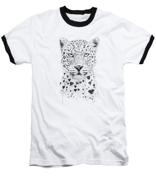 Lovely Leopard Baseball T-Shirt