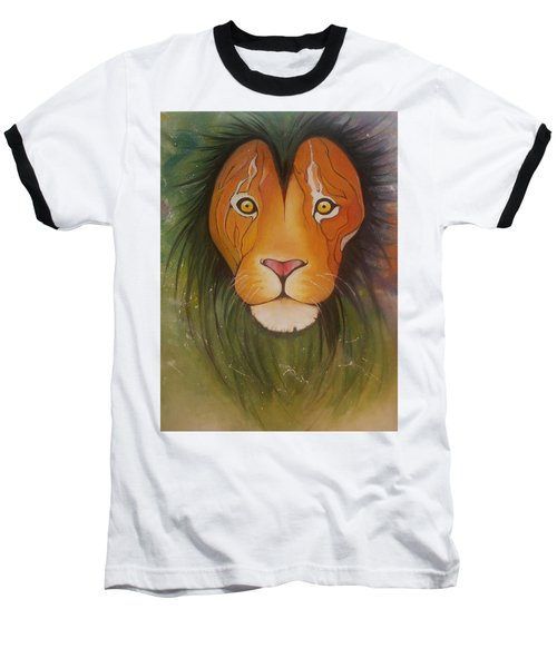 Lovelylion Baseball T-Shirt by Anne Sue