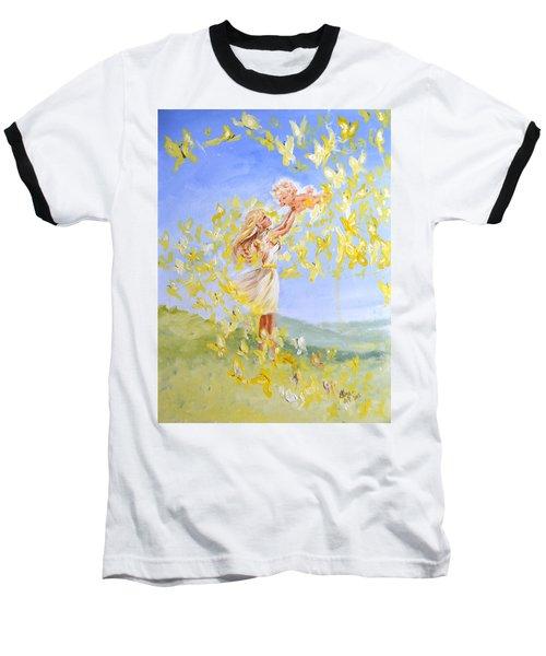 Love's Flight Baseball T-Shirt