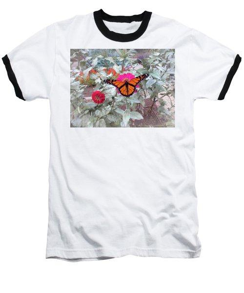 Loving The Zinnias Baseball T-Shirt
