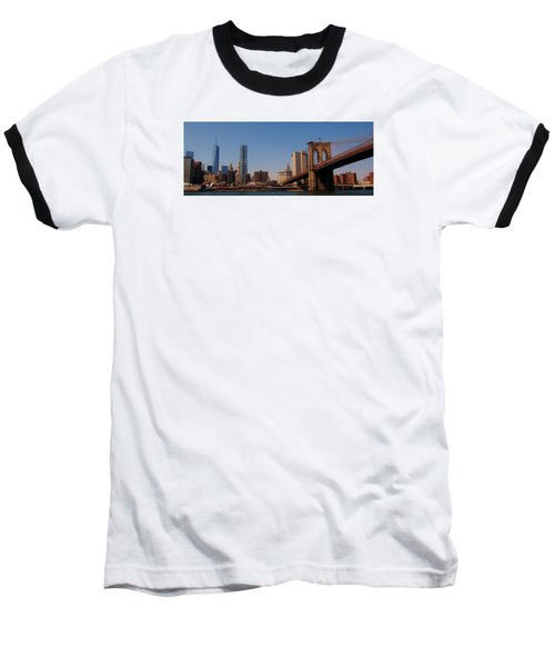Lower Manhattan Nyc Baseball T-Shirt