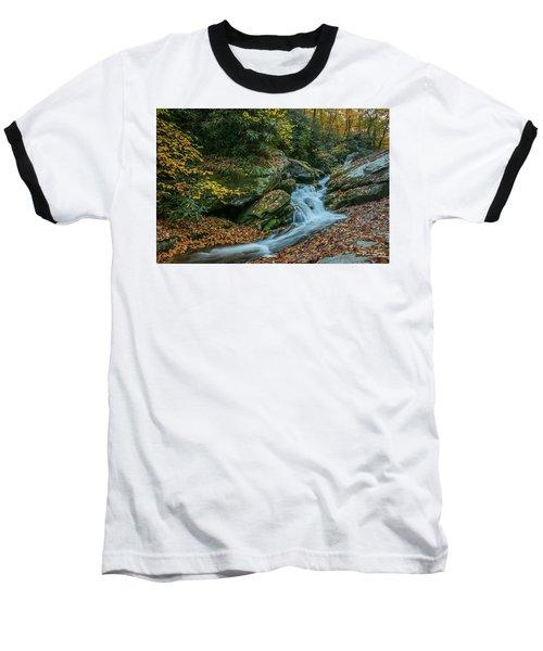 Lower Upper Creek Falls Baseball T-Shirt