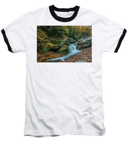 Lower Upper Creek Falls Baseball T-Shirt