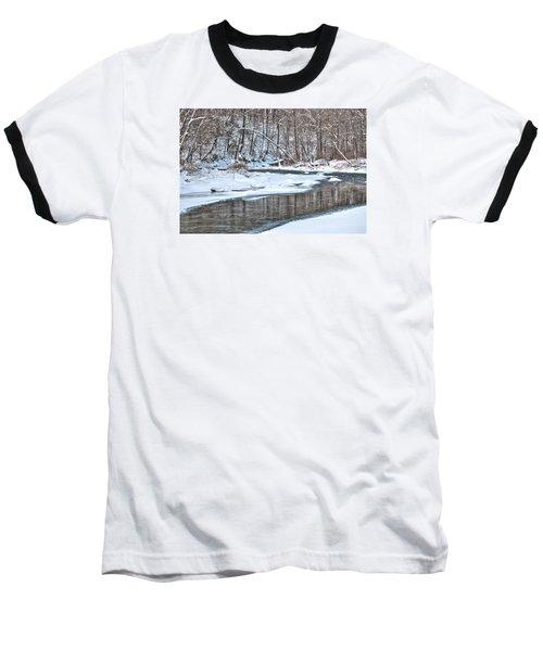 Baseball T-Shirt featuring the photograph Loyalhanna Creek - Wat0100 by G L Sarti