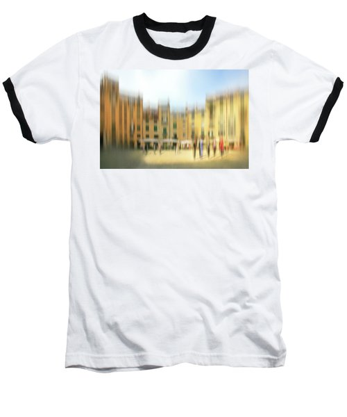 Lucca Ampitheatre Impression 1 Baseball T-Shirt by Marty Garland