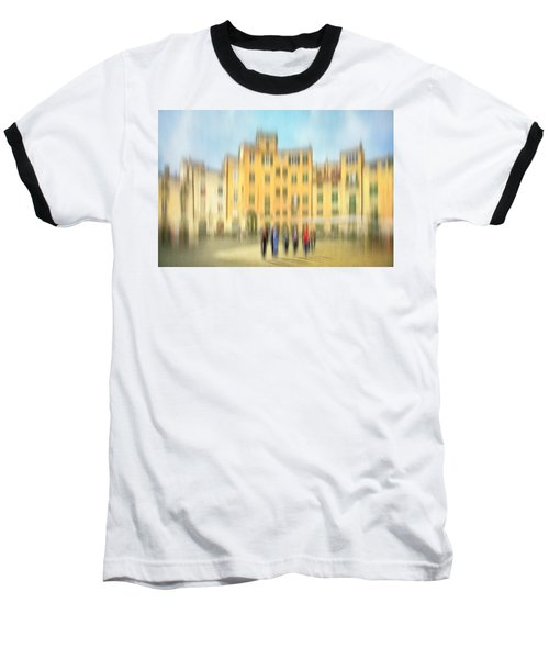 Lucca Ampitheatre Impression 2 Baseball T-Shirt by Marty Garland