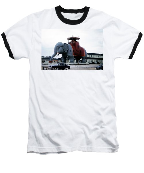 Lucy The Elephant 2 Baseball T-Shirt