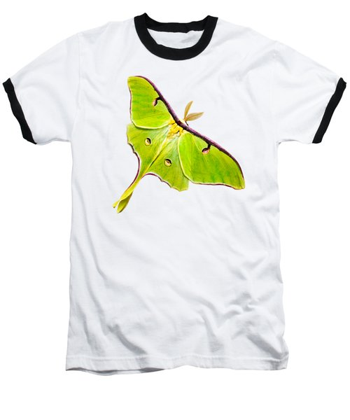 Luna Moth Baseball T-Shirt