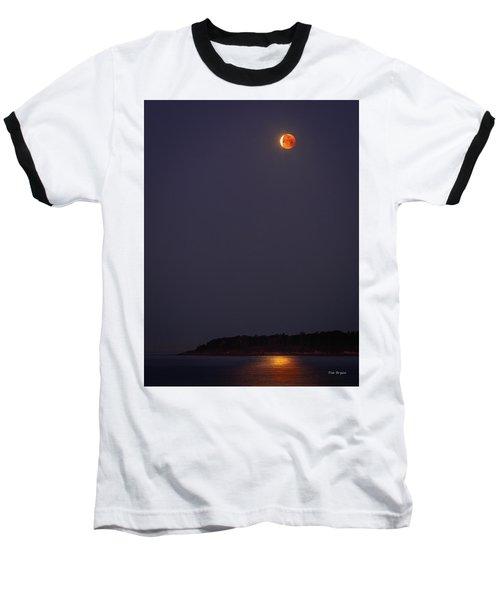 Lunar Eclipse - January 2018 Baseball T-Shirt