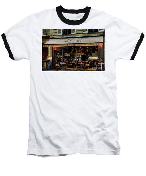 Lunch In Paris Baseball T-Shirt
