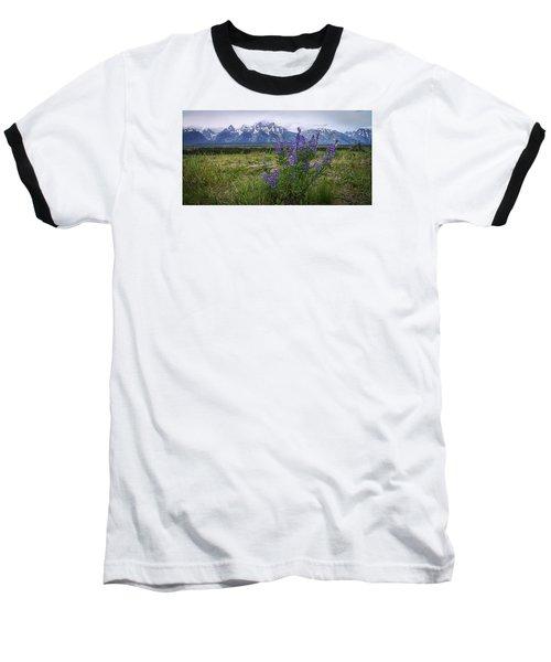 Lupine Beauty Baseball T-Shirt by Chad Dutson