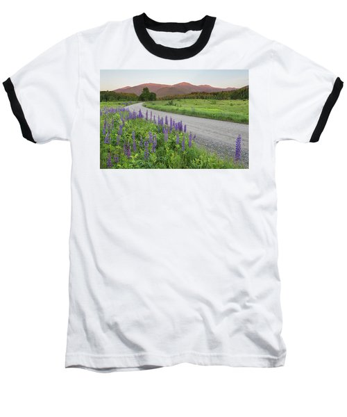 Lupine Sunset Road Baseball T-Shirt