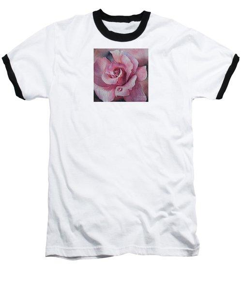 Baseball T-Shirt featuring the painting Lyndys Rose by Sandra Phryce-Jones