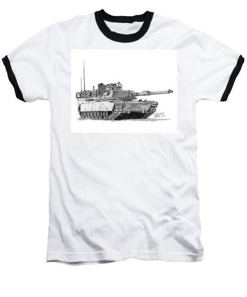 M1a1 Battalion Commander Tank Baseball T-Shirt