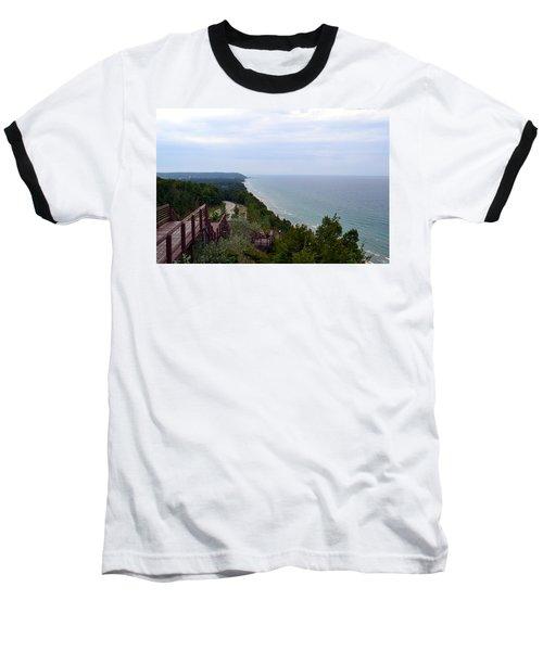 M22 Scenic Lake Michigan Overlook  Baseball T-Shirt