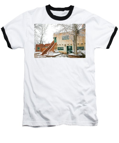 Baseball T-Shirt featuring the photograph Mabel Dodge House 2 by Marilyn Hunt
