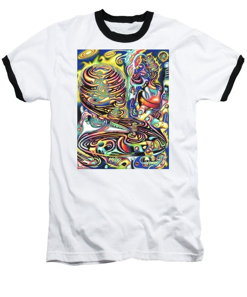 Macrocosmic Creation Of A Splendid Puzzle Baseball T-Shirt