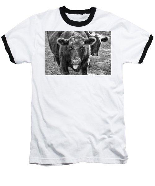 Mad Cow  Baseball T-Shirt