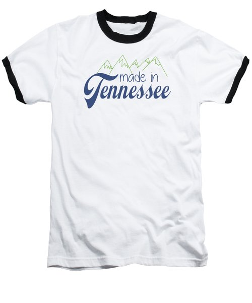Baseball T-Shirt featuring the photograph Made In Tennessee Blue by Heather Applegate