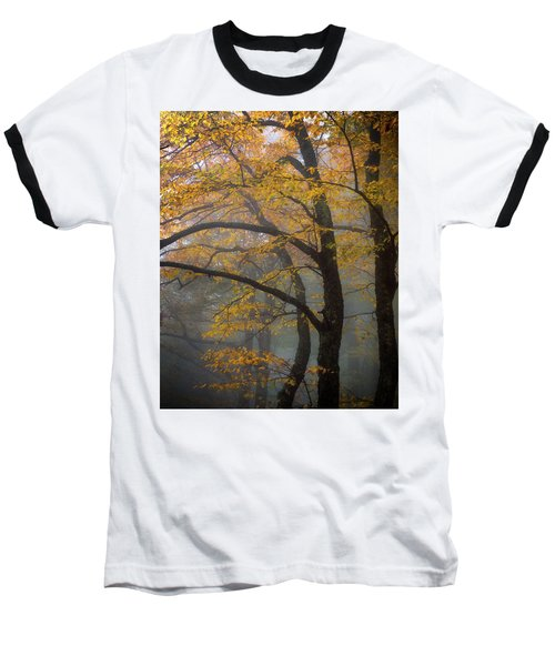 Magical Forest Blue Ridge Parkway Baseball T-Shirt