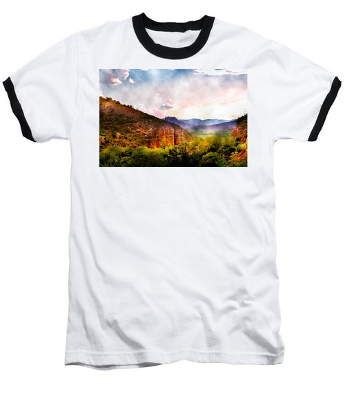 Magical Sedona Baseball T-Shirt