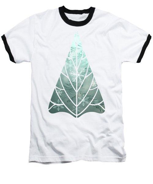 Magical Snow Baseball T-Shirt by AugenWerk Susann Serfezi