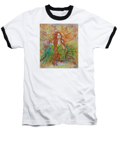 Magical Song Of Autumn Baseball T-Shirt