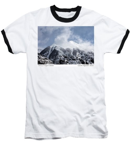 Magnificent Mountains In Telluride In Colorado Baseball T-Shirt