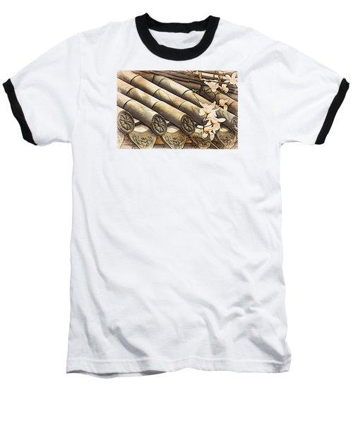 Magnolia Tiles Baseball T-Shirt