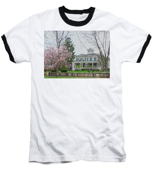 Magnolia Time Baseball T-Shirt by David Bearden