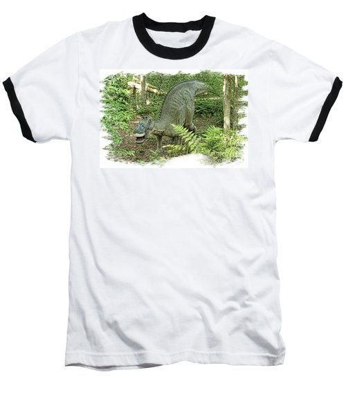 Maiasaura Poster Baseball T-Shirt