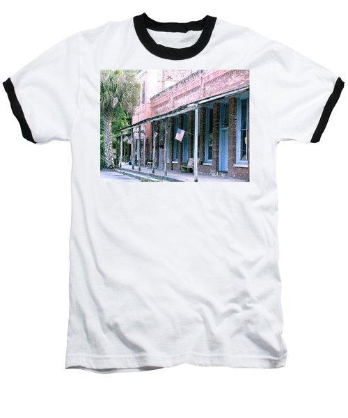 Main Street Micanopy Florida Baseball T-Shirt