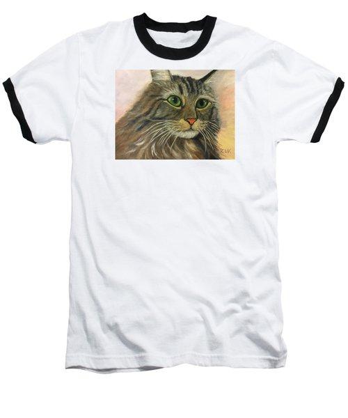 Maine Coon Cat Baseball T-Shirt