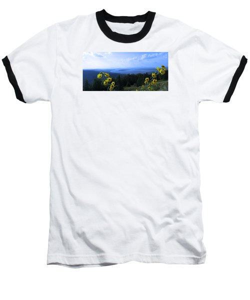 Baseball T-Shirt featuring the photograph Maine Mountain Vistas by Mike Breau